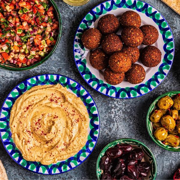 Middle Eastern Mezze