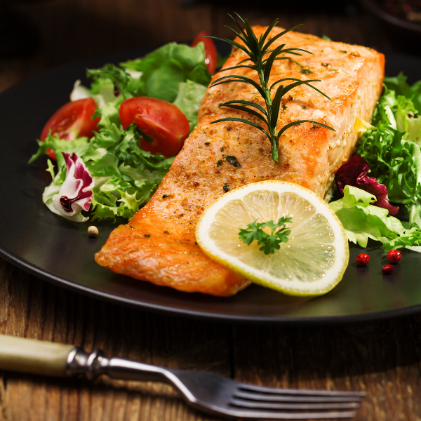 Baked Salmon For The Heart