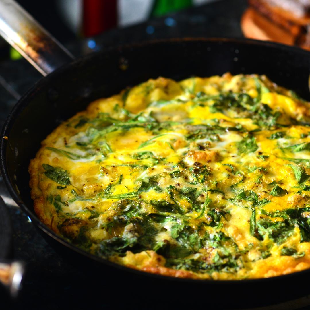 Egg Frittata for a Nutrient Rich Breakfast
