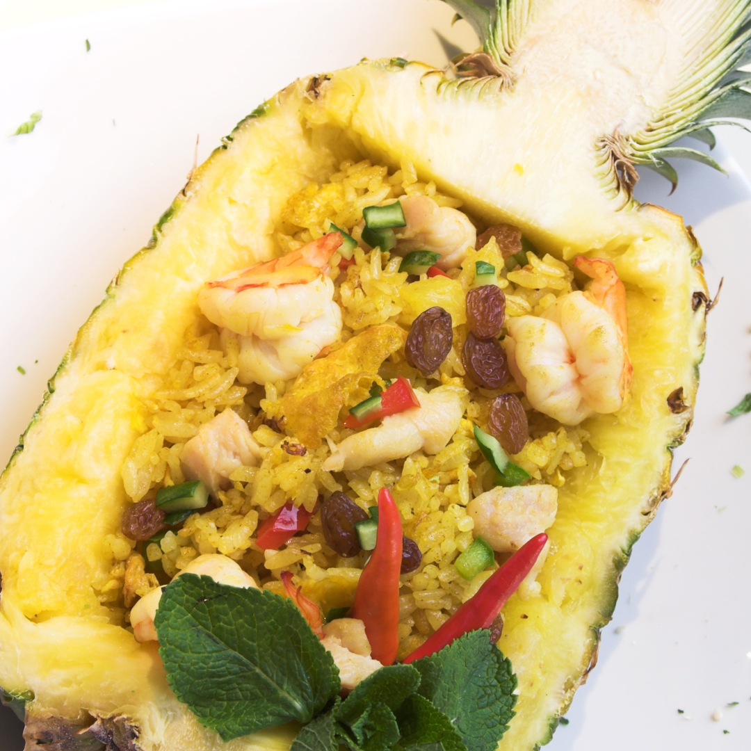 30 minutes Pineapple Fried Rice