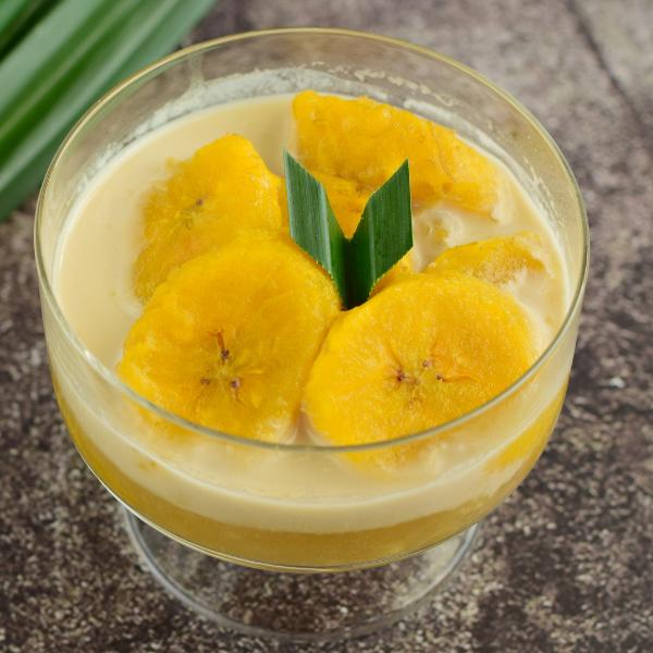 Pengat Pisang (Banana Porridge using Coconut Milk)